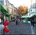 ST3187 : Balloons and stalls, Newport Food Festival 2012 by Jaggery