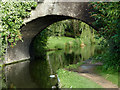 SP1592 : Dicken's Bridge at Minworth, Birmingham by Roger  Kidd