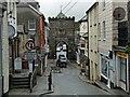 SX3384 : Southgate Arch, Launceston by Robin Drayton