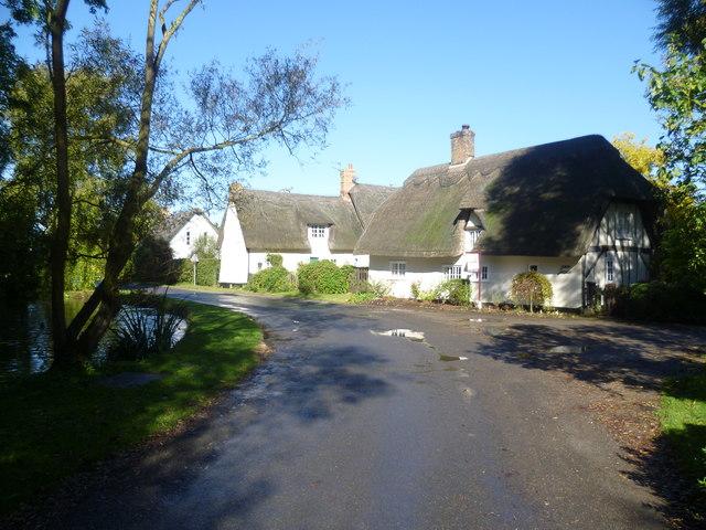 Village scene in Wennington