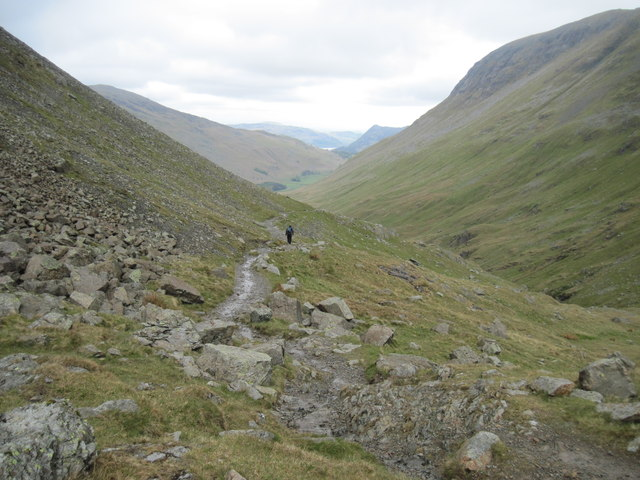 Grisedale  and  a  distant  Ullswater