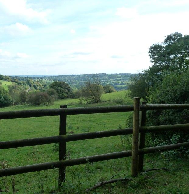 Fields near Kirk Ireton
