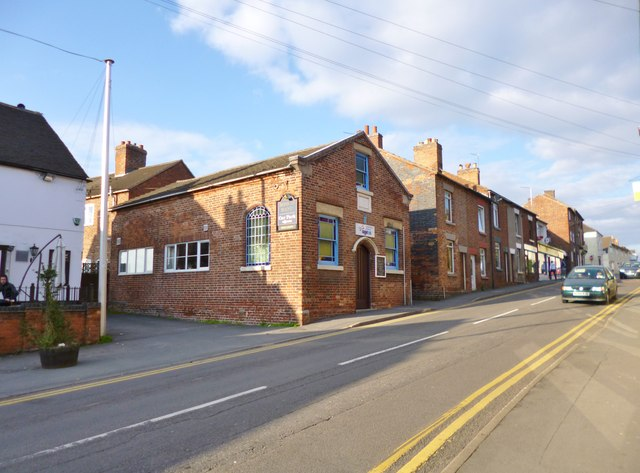 Measham, temperance hall