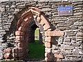 NR9157 : Doorways, Kilbrannan Chapel by Rose and Trev Clough