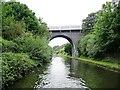 SP0189 : Smethwick Station Bridge by Christine Johnstone