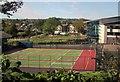 SX9065 : Games courts, Torquay Academy by Derek Harper