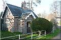 SO0428 : Gatehouse on Belle Vue Road by Graham Horn