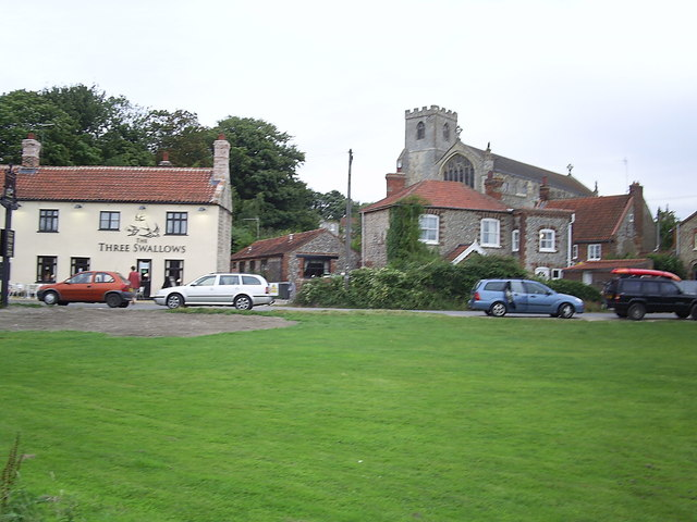 Pub and church