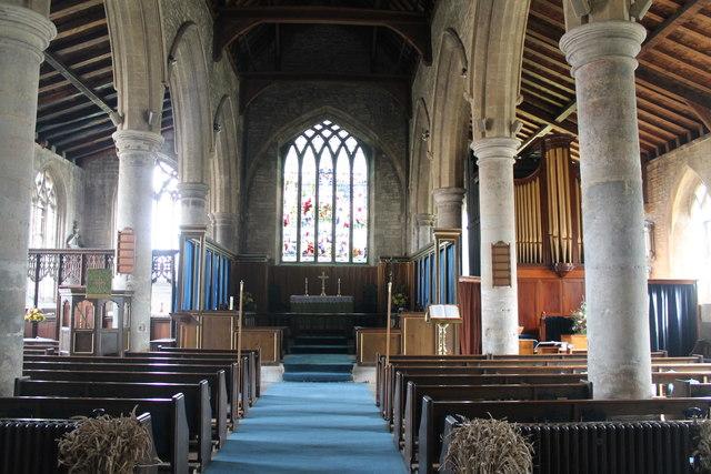 Interior St John The Baptist Church 169 J Hannan Briggs