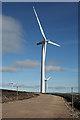 NJ3546 : Drummuir Wind Farm by Anne Burgess