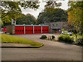 SK0393 : Glossop Fire Station, Whitfield Park by David Dixon