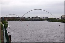 NZ4519 : Infinity Bridge over the River Tees by Steve Daniels