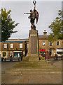 SK0394 : Glossop War Memorial, Norfolk Square by David Dixon