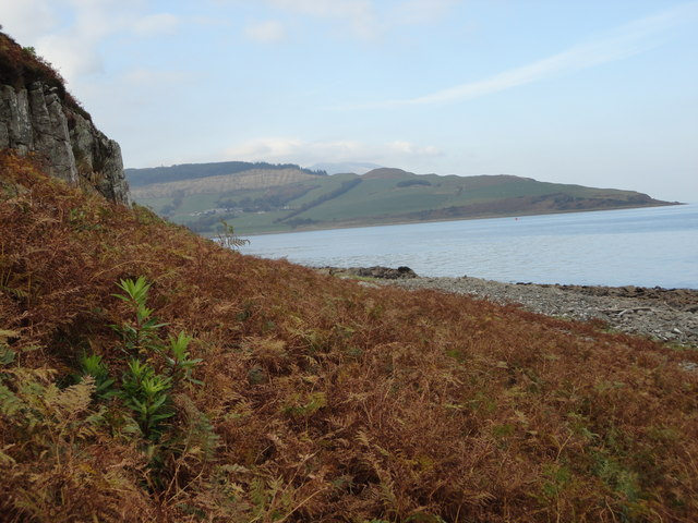 Looking towards Clauchlands (Arran)