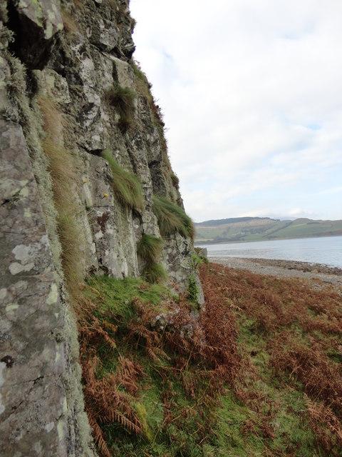 Looking towards Clauchlands (Arran)