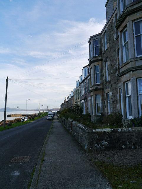 A View Beside The B881 At Kilchattan Bay