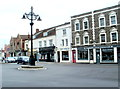 ST6568 : Shops at the northern end of High Street, Keynsham by Jaggery