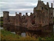 NY0265 : Caerlaverock Castle by Darrin Antrobus