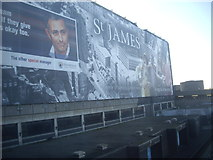NT2574 : A 'St James Quarter' mural by Stanley Howe