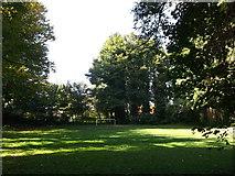 TQ7668 : Football pitch near St Barbara's Garrison Church by David Anstiss