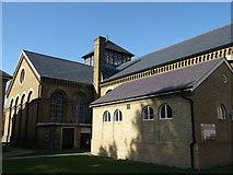TQ7668 : Brompton barracks gymnasium, Brompton (2) by David Anstiss