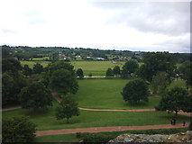 TQ7825 : View south from Bodiam Castle by Graham Robson