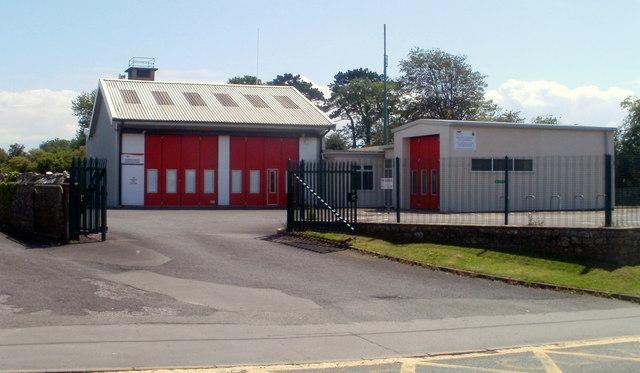 Llantwit Major fire station