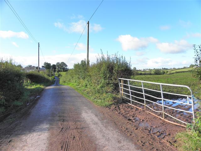 A muddy road, Beragh
