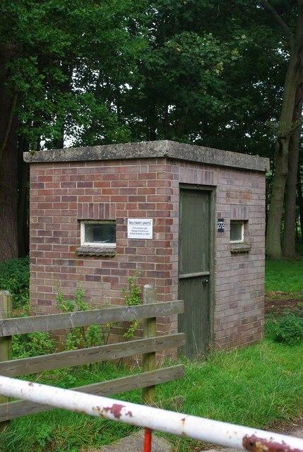 STANTA guard post