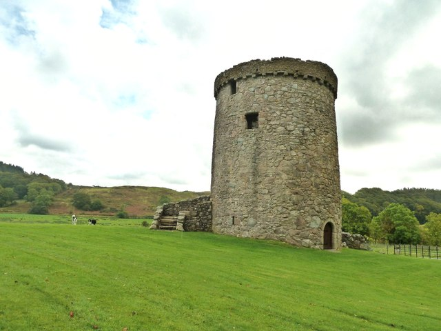 Orchardton Tower looking southeast