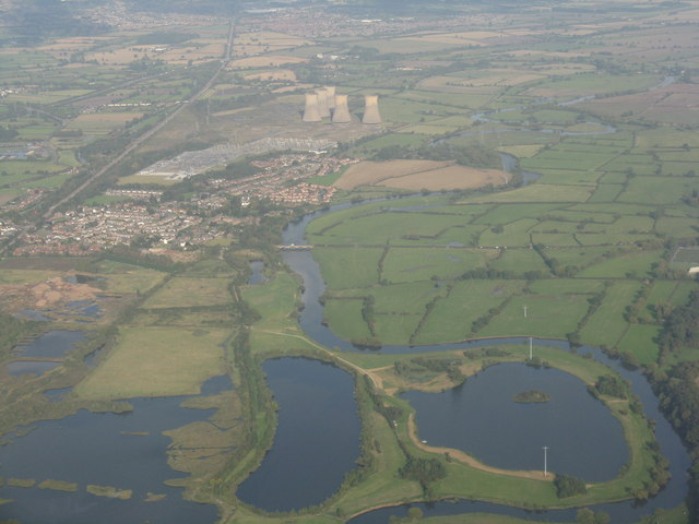 Willington and the power station