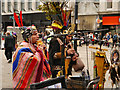 SJ8498 : Pan Pipes in Piccadilly by David Dixon