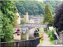 SD9927 : Rochdale Canal at Hebden Bridge by Row17