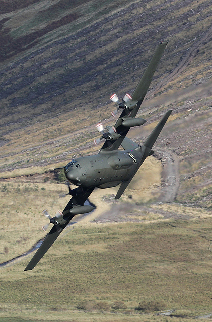 A Hercules in the Selkirk to Moffat valley