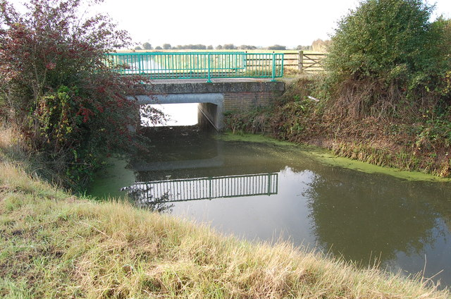 New Bridge over Cradlebridge Sewer