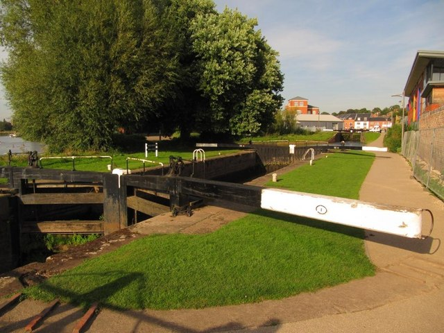 Lock 1, from the west