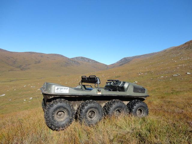 An Argocat in Glen Iorsa