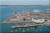 SU6200 : Portsmouth Naval Dockyard  by Ian Capper