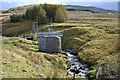 SN7686 : Pumping station by the Nant y Moch by Nigel Brown