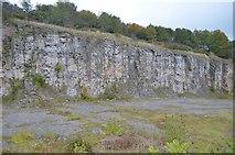 SK2855 : Former Limestone Quarry by Ashley Dace