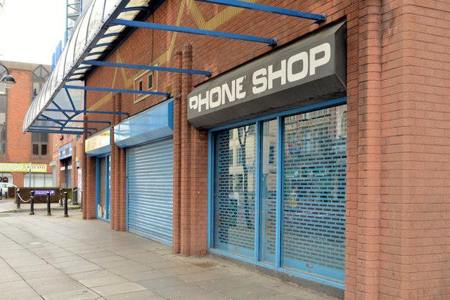 """Former """"InShops"""", Belfast"""