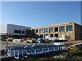 TQ7668 : Brompton Academy, New Building (3) by David Anstiss