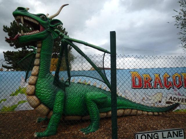 Long Lane Dragon close-up