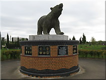SK1814 : Memorial for the 49th West Riding Infantry Division by M J Richardson