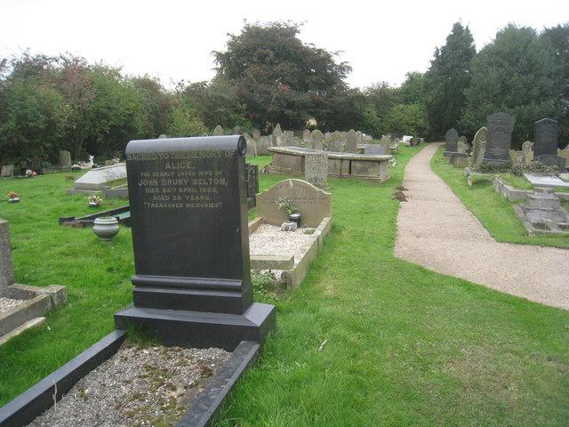St. Oswald's churchyard, Luddington