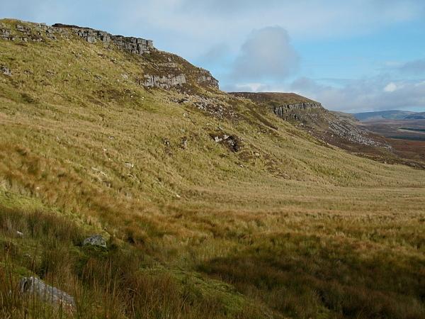 Slieve Anierin Escarpment