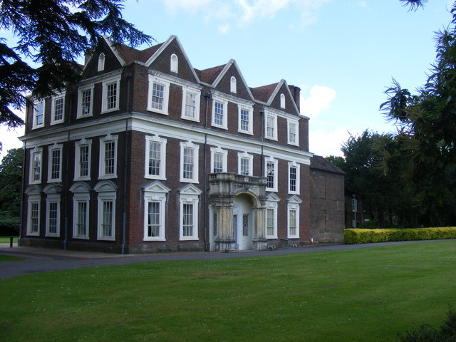 Boston Manor House from the front lawn.