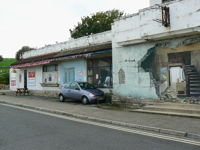 Trompe l'oeil (1), Swanage, Dorset