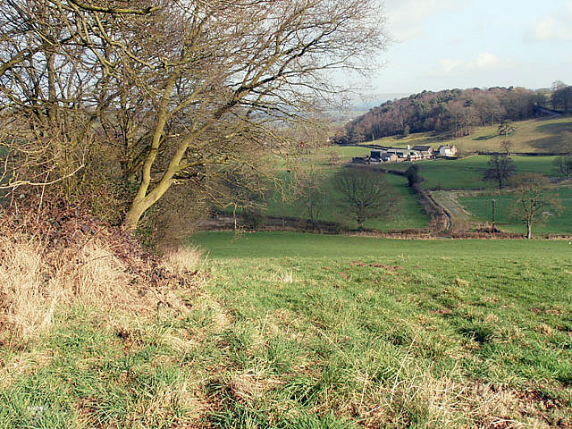 Across the valley to Steel House Farm