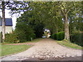 TM4183 : Bridleway & entrance to Brampton Old Hall by Adrian Cable